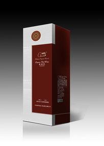 瓦楞纸红酒包装设计