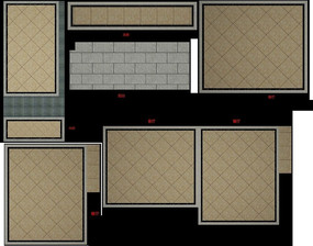 3D家居地面地砖设计模型和效果图