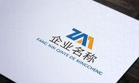 创意科技公司logo AI