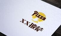 创意披萨店logo