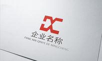 传媒公司字母Xlogo