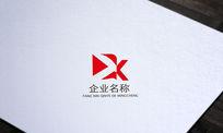 红色传媒公司字母Xlogo