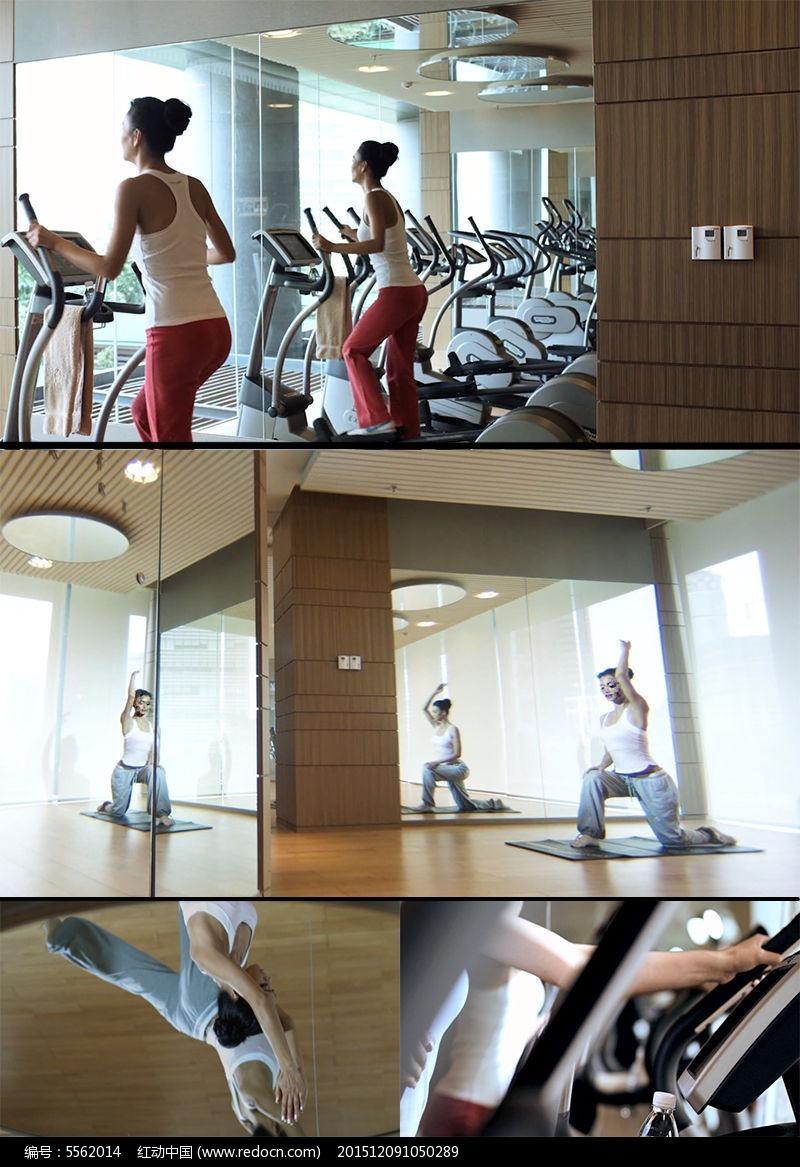 健身房瑜伽v瑜伽视频美女图片美女周奕杉图片