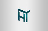绿色家装房地产网络logo
