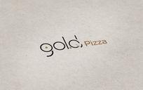 披萨店创意logo
