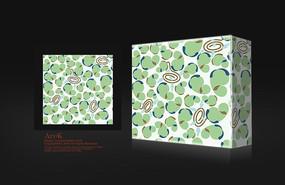 浅绿色方形包装盒