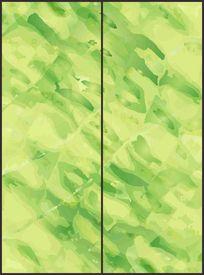 时尚清新抽象花纹移门图案 CDR