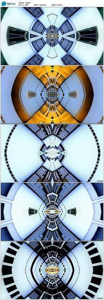 动感隧道穿梭推进动态led舞台背景视频