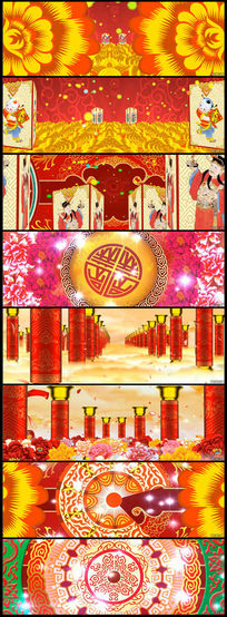 新年喜庆民俗歌曲和谐中国剪纸视频
