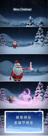 高清圣诞节视频