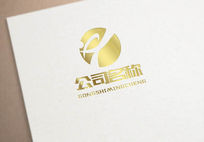 金色高端大气logo