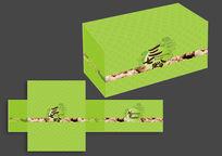 绿色清新三七粉包装