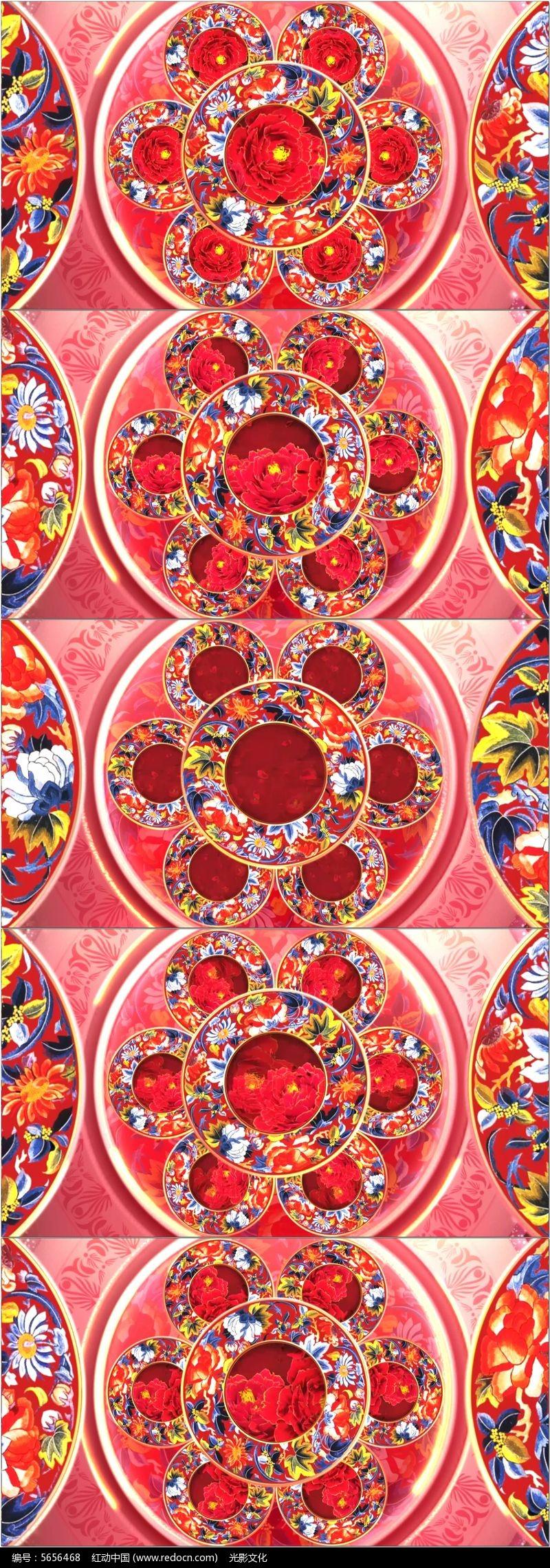 中国红舞台网_中国文化歌曲舞蹈演出舞台led视频_红动网