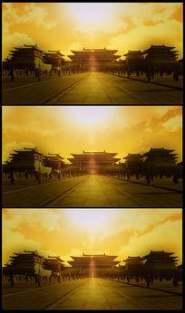 大气皇宫高清背景视频
