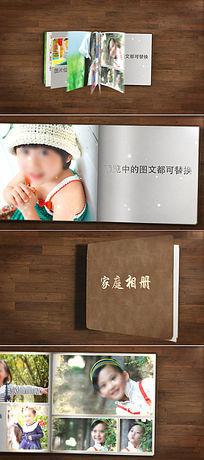 翻书效果图片展示电子相册AE片头模板