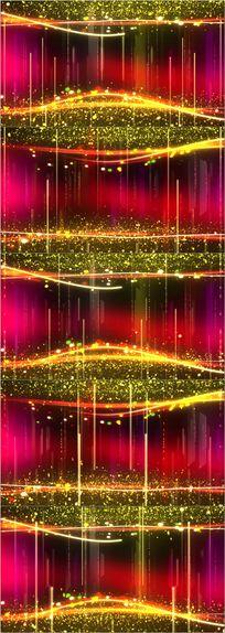 高清粒子光效led彩幕舞台成品视频