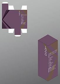 简朴风格药品包装盒