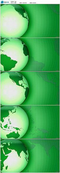 2016绿色环保地球视频