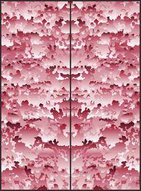 抽象沉稳雅致波浪花纹移门图案