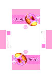 粉色可爱甜甜圈包装