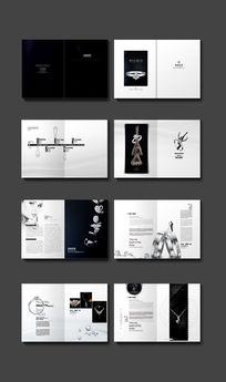 黑色奢华珠宝首饰宣传册封面