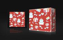 红色漂亮品礼盒