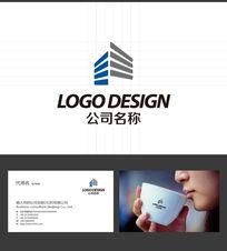 建造地产LOGO标志设计 AI