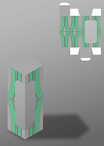 现代感通用半透明包装盒模板