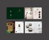 中国风玉器产品宣传册设计