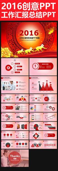 2015猴年企业PPT工作总结