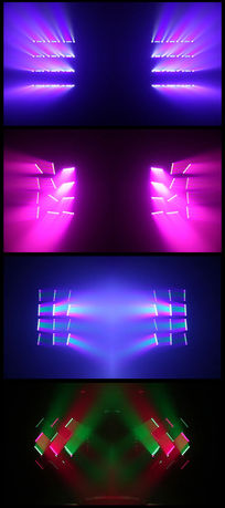 LED灯秀动感光效光影视频 mov