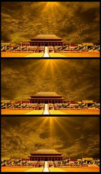 大气恢宏皇宫宫殿LED视频