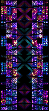 动感绚丽矩阵舞台灯光闪烁闪耀LED视频 mpg