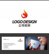 火焰LOGO标志设计