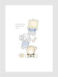 卡通印花动物高档图案