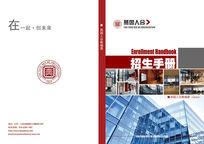 产品手册封面拼图矩阵大气建筑物封面
