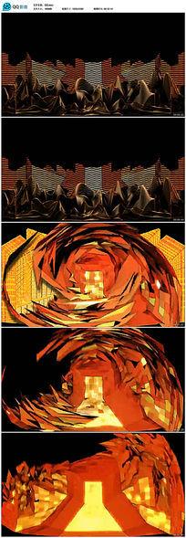 超酷DJ舞台背景视频素材