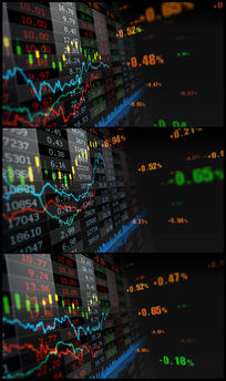 金融股市股票证券视频素材