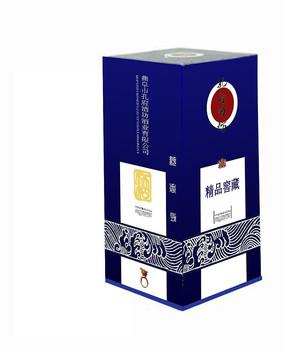 白酒包装盒设计 PSD
