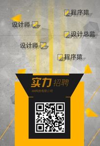 黄色大气创意招牌海报