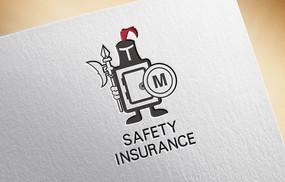 前卫创意保险柜logo