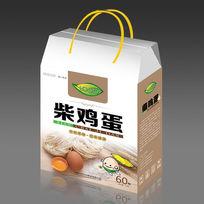 柴鸡蛋包装礼盒设计