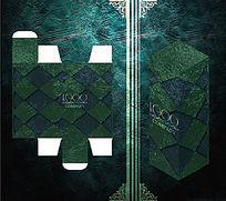几何对称大气包装盒模板