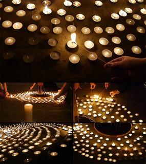 蜡烛祈福纪念视频素材 mov