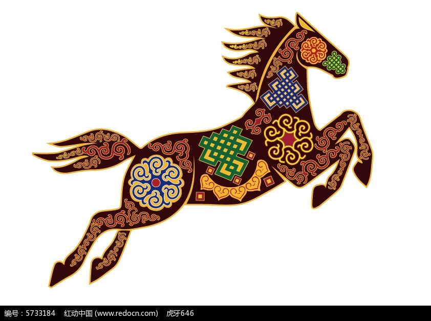 内蒙古马图片