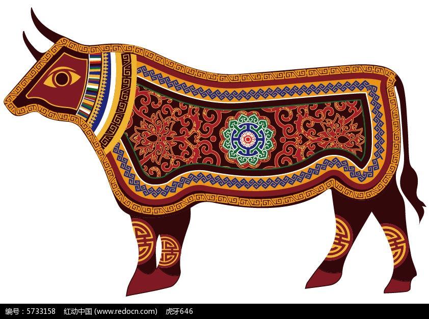 内蒙古牛图片