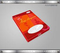 情趣内衣包装设计平面图素材