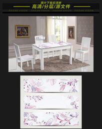 桌子花纹图案模板下载
