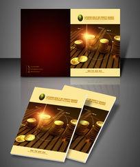 财富投资画册封面设计
