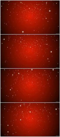 红背景下雪节日视频素材